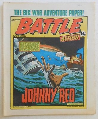 BATTLE - ACTION Comic - 30th August 1980