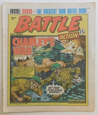 BATTLE - ACTION Comic - 2nd May 1981