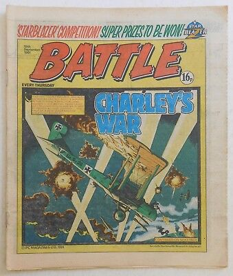 BATTLE Comic - 19th September 1981