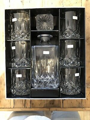 Royal Doulton Whisky Decanter With 6 Glasses