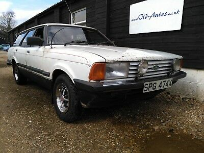 Ford Cortina GL Estate - Mk 5 - 1981 - 2000cc - Dry Stored Many Years - Drives -