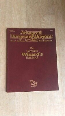 Advanced Dungeons and Dragons 2nd Edition The Complete Wizard's Handbook