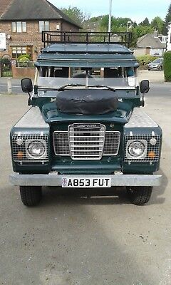 Landrover Series 3 Swb Station Wagon