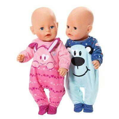 Zapf Baby Born Romper assortment- Choose from 2 Doll Cloths