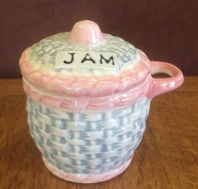 Small Vintage Japanese Jam Pot