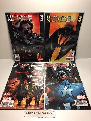 MARVEL COMIC ULTIMATE NIGHTMARE Issue 1 - 4 Great Condition