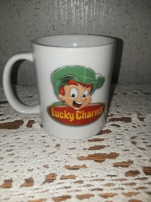 Vintage 2003 General Mills lucky charms Coffee Cup