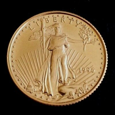1996~ 1/10oz -$5 - GOLD AMERICAN EAGLE COIN ~ UNCIRCULATED!! EXCELLENT!