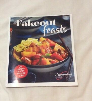 Slimming World Fakeout Feasts Booklet 20 Recipes Worth Staying In For NEW 2018