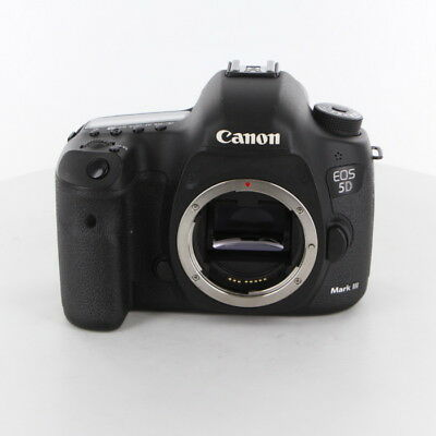 Canon EOS 5D Mark III 22.3MP Digital SLR Camera Black Body Only Excellent