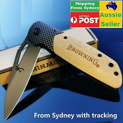 Browning knife X28  Folding Opening Pocket Knife Hunting, Camping, Survival