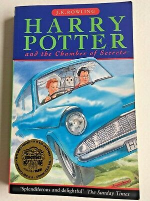 Harry Potter And The Chamber Of Secrets PB First Edition 1st Print - 10987654321