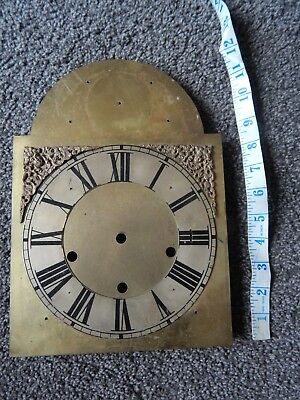 Antique Brass Clock Face for Spares