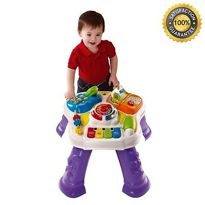 Kids Learning Activity Table Learn Recognise Sing Along Song 8 Fun Melodies