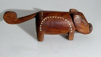 Massim Pig Figure Trobriand Islands New Guinea