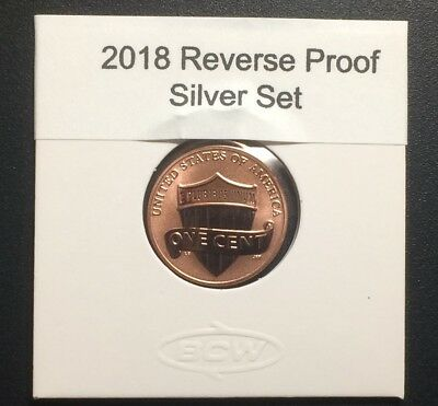 2018 S Us Mint  Reverse  Proof Lincoln  Penny Cent