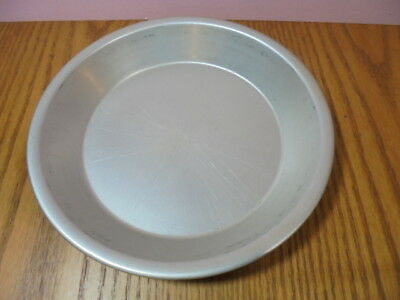 "Vtg Wear-Ever  Rolled Lip Edge Aluminum Metal 8"" Pie Plate Pan A-2843 Wearever"