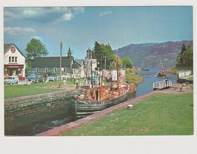 Postcard - Fort Augustus - Inverness - The Caledonian Canal