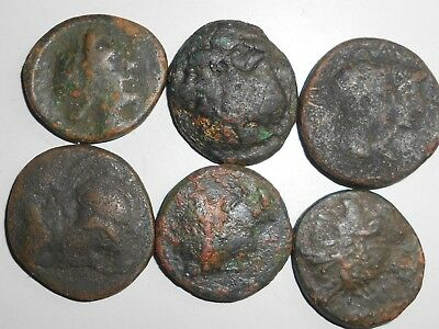 6 Greek coins one price