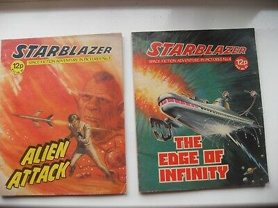 Starblazer Space Fiction In Pictures Early Editions 3 And 4