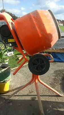 Belle Cement Mixer Minimix 150 240v  with Stand