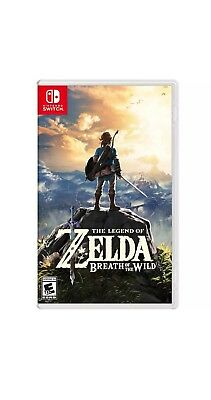 The Legend of Zelda: Breath of the Wild - Nintendo Switch FREE SHIPPING