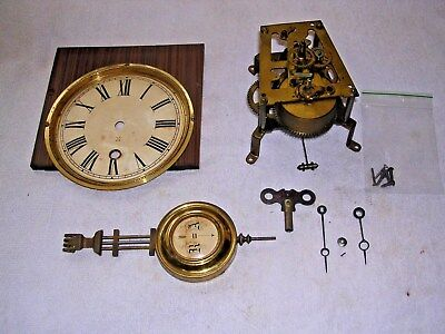 Clock  Parts , Movement ,face, Hands, Pen &key