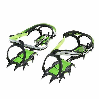14-point Manganese Steel Climbing Gear Crampons Ice Grippers Ice Walking