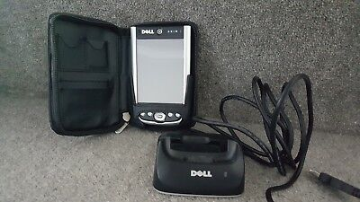 Dell X51v PDA with case and docking/charging station