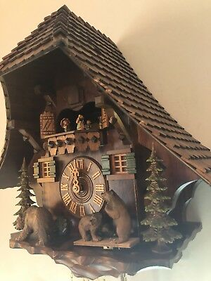 Cuckoo Clock Very Large 8 Day