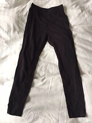 maternity over bump leggings Papaya size 10 Black