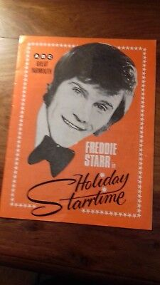 Freddie Starr programme Great Yarmouth ABC, ealy 70s