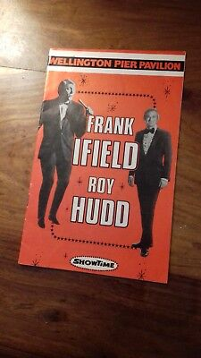 Wellington Pier. Great Yarmouth programme Frank Ifield and Roy Hudd