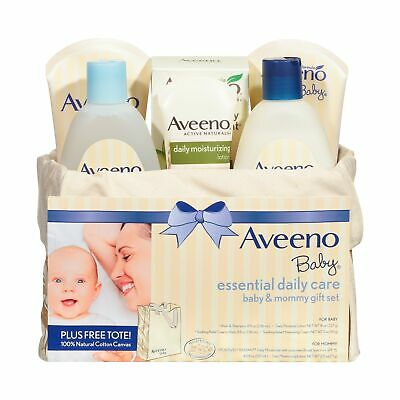 Aveeno Baby Essential Daily Care Baby & Mommy Nourishing Skincare Gift Set