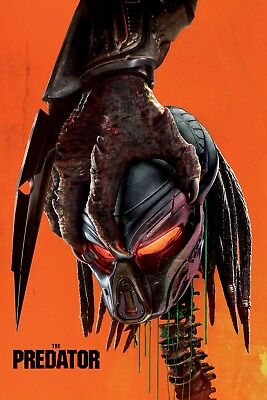 The Predator Movie Poster Picture Art 2018 Print Art A4 A3 A2 -391