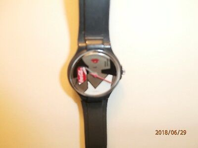 Coca Cola water resistant  Swiss made watch