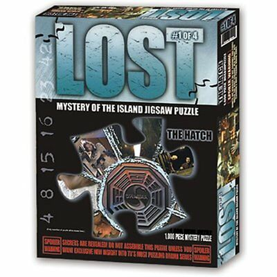 Lost Mystery of The Island Jigsaw Puzzle The Hatch 1000 Piece New Sealed