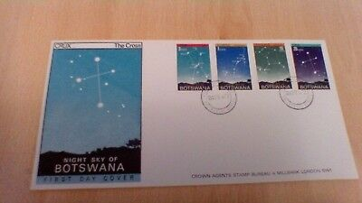 1972 Botswana Night Sky First Day Cover