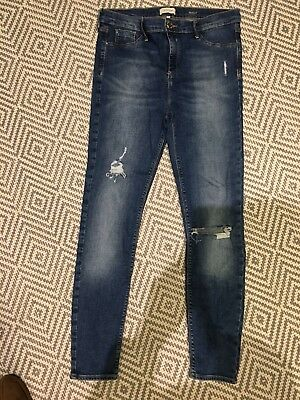 River Island Molly Skinny Jeans Size 16