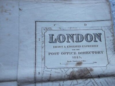 London - Post Office Directory 1915.Cloth.