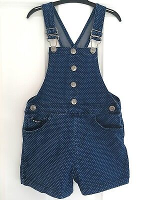 Tractor Girls Shorts Dungarees 4-5 Years