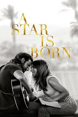 A Star Is Born Lady Gaga Movie Poster Picture Art 2018 Print A4 A3 A2 Maxi -413