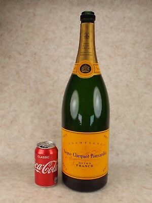 Veuve Clicquot Ponsardin 3ltr Jeroboam EMPTY Bottle In Original Box For Display