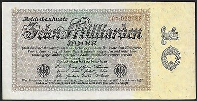 Germany 10 Milliarden Marn 1923, Ro 113b / P 116a