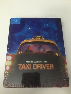 TAXI DRIVER 1976 (Blu-Ray BEST BUY 2014 PopArt) Limited Steelbook - NEW