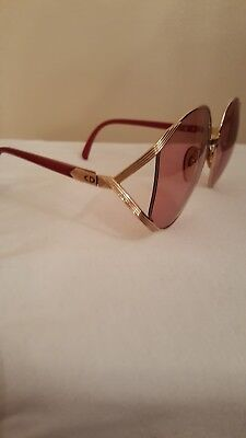 Vintage 1980's Christian Dior Butterfly Sunglasses 2056