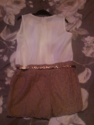 girls playsuit age 7 years from matalan ideal for party