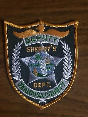 Okaloosa County Florida Sheriff's Department Patch  - Collectable