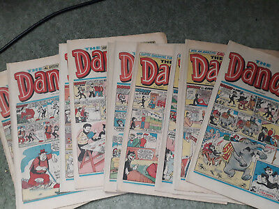 DANDY COMICS from 1970s/early 80s - any FIVE issues for 99 pence! RETRO GIFT