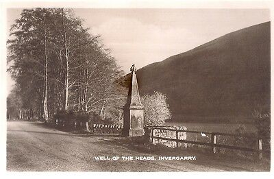 Old Postcard - Well Of The Heads - Invergarry - Inverness-Shire C.1939